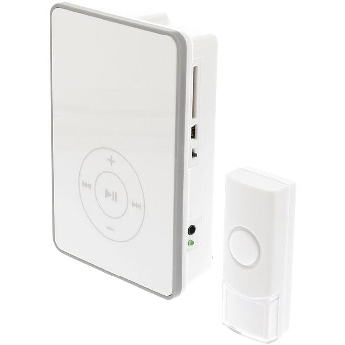 Ασύρματο Κουδούνι με Θύρα Mini USB & MicroSD Konig SAS-WDB 211 hlektrikes syskeyes texnologia systhmata asfaleias uyrothleoraseis
