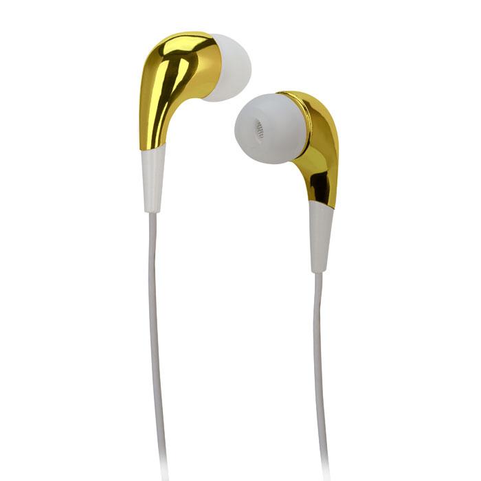 Ακουστικά Stereo με Μικρόφωνο 3.5mm Meliconi Mysound Speak Mirror Gold hlektrikes syskeyes texnologia perifereiaka ypologiston akoystika
