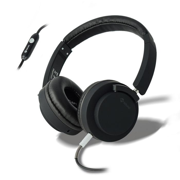 Ακουστικά Stereo με Μικρόφωνο 3.5mm Meliconi Mysound Speak Pro Black hlektrikes syskeyes texnologia perifereiaka ypologiston akoystika