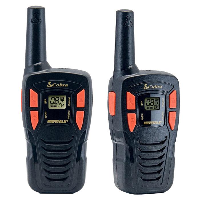 Walkie Talkie 5km Cobra AM245 Μαύρο-Πορτοκαλί paixnidia hobby gadgets diafora