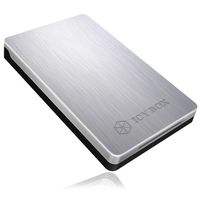 """Εξωτερική Θήκη Αλουμινίου USB 3.0 για HDD/SSD 2,5"""" Sata Icy Box IB-234U3a hlektrikes syskeyes texnologia perifereiaka ypologiston ejoterikes uhkes diskon"""