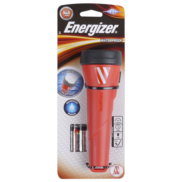 Αδιάβροχος Φακός Energizer Waterproof Light Red paixnidia hobby gadgets fakoi