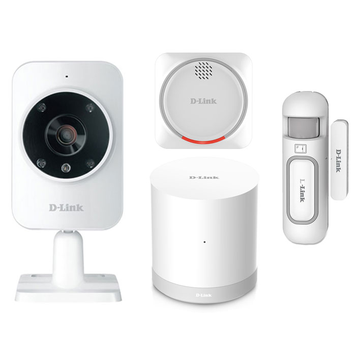 Smart Home Security Starter Kit D-Link Mydlink Home DCH-107KT hlektrikes syskeyes texnologia perifereiaka ypologiston diktya