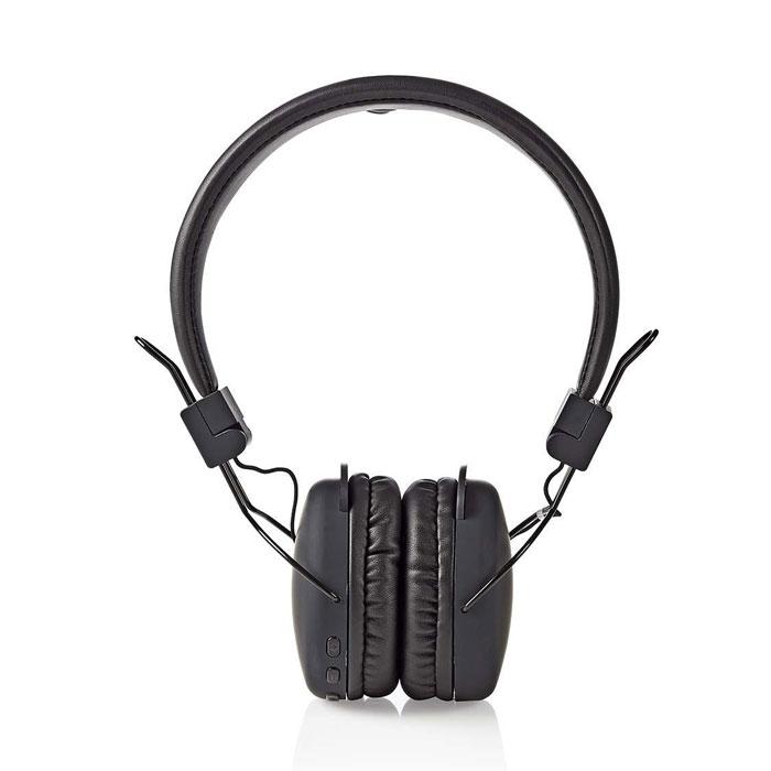 Ασύρματα Ακουστικά Bluetooth Nedis HPBT1100BK Μαύρα hlektrikes syskeyes texnologia perifereiaka ypologiston akoystika