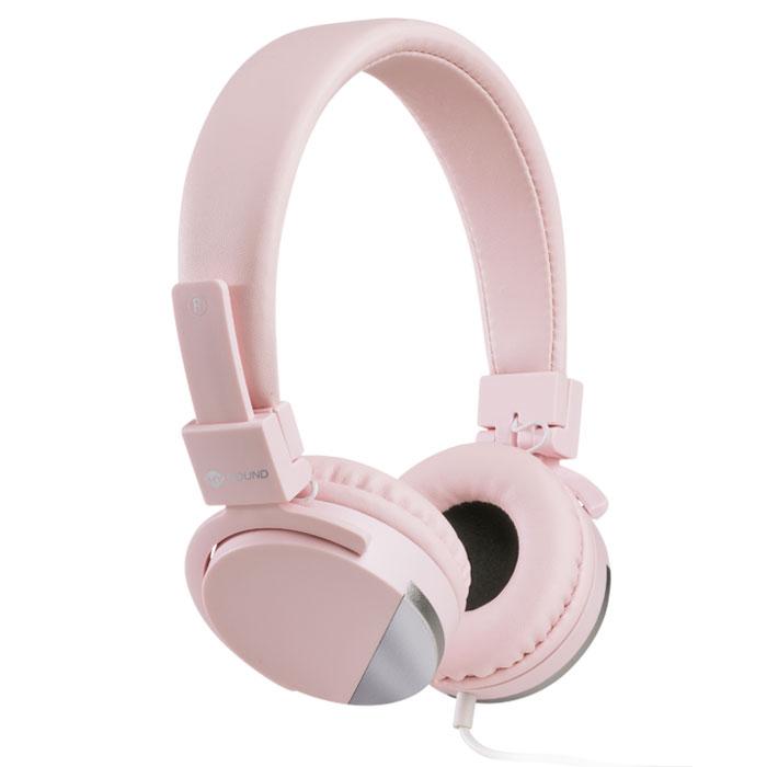 Στερεοφωνικά Ακουστικά με Μικρόφωνο 3.5mm Meliconi 497457 Speak Metal Rose hlektrikes syskeyes texnologia perifereiaka ypologiston akoystika