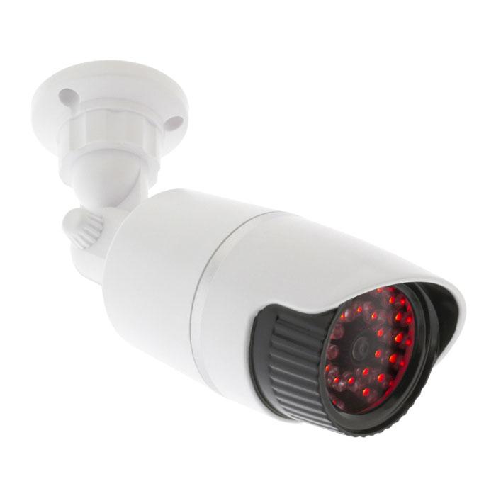 Ομοίωμα Κάμερας Security για Εξωτερικό Χώρο Konig Sas-Dummy 120 W Λευκό hlektrikes syskeyes texnologia systhmata asfaleias syskeyes dummy