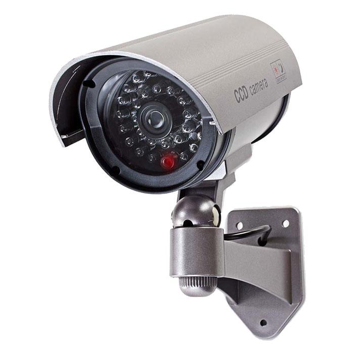 Ομοίωμα Κάμερας Security για Εξωτερικό Χώρο Nedis DUMCB40GY Γκρι hlektrikes syskeyes texnologia systhmata asfaleias syskeyes dummy