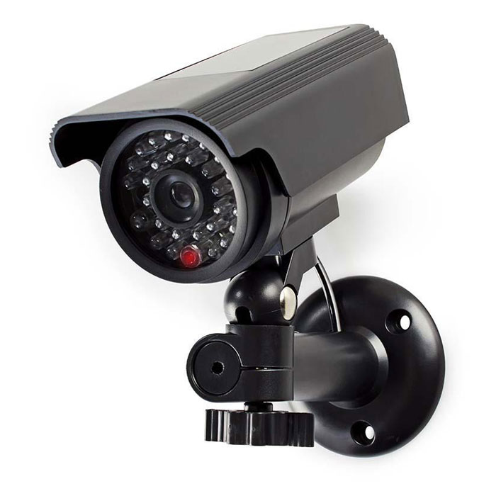 Ομοίωμα Κάμερας Security για Εξωτερικό Χώρο Nedis DUMCBS10BK Μαύρο hlektrikes syskeyes texnologia systhmata asfaleias syskeyes dummy