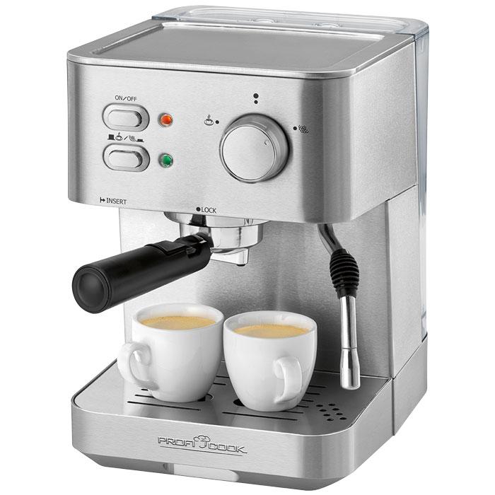 Ανοξείδωτη Μηχανή Espresso 15bar Profi Cook PC-ES 1109 1050w hlektrikes syskeyes texnologia oikiakes syskeyes kafetieres