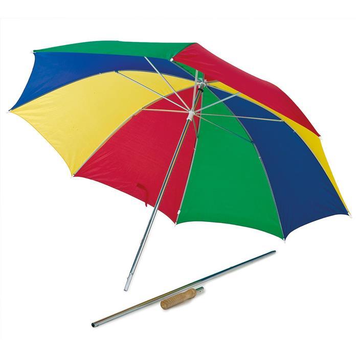 Ομπρέλα Παραλίας 2 Σε 1 Happy People 78650 khpos outdoor camping epoxiaka camping ompreles ualasshs