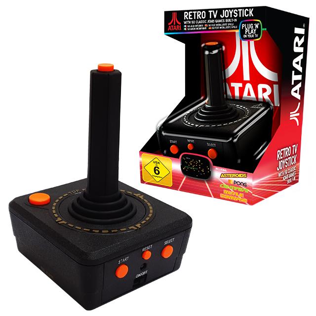 Retro Console Atari TV Plug N Play Joystick - ATARI Console gaming konsoles paixnidion console retro