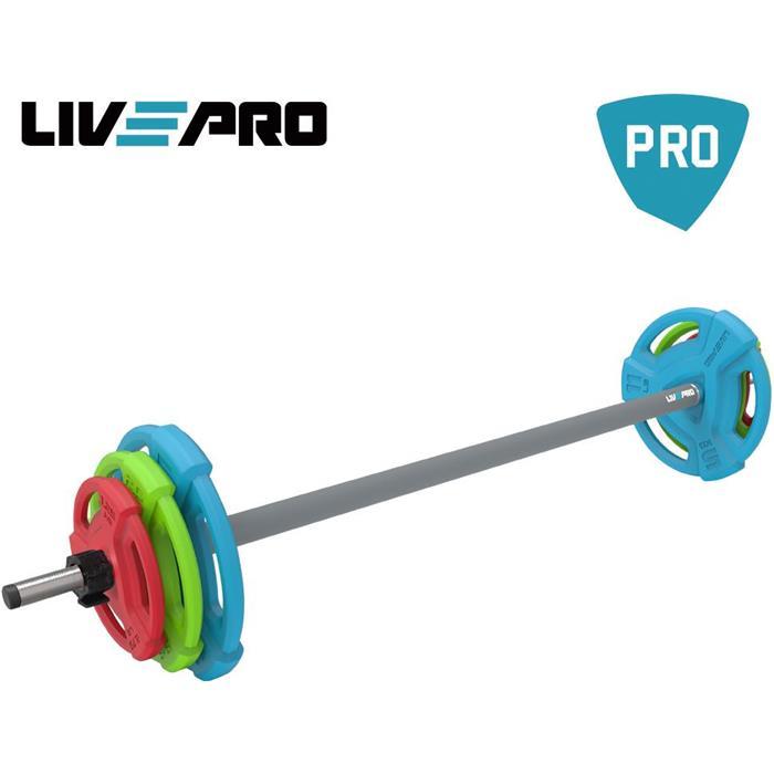 Σετ Body Pump LivePro Β 8031 paixnidia hobby organa gymnastikhs barh