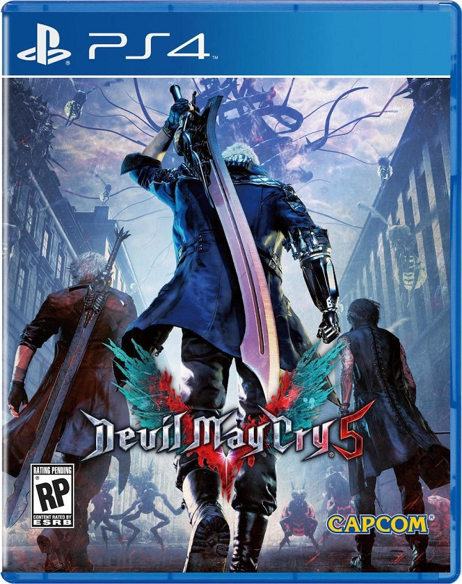 Devil May Cry 5 - PS4 Game gaming games paixnidia ps4