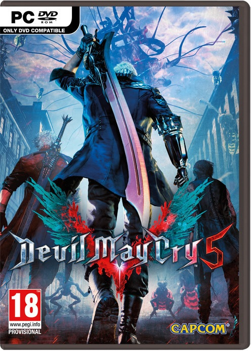 Devil May Cry 5 - PC Game gaming games paixnidia pc