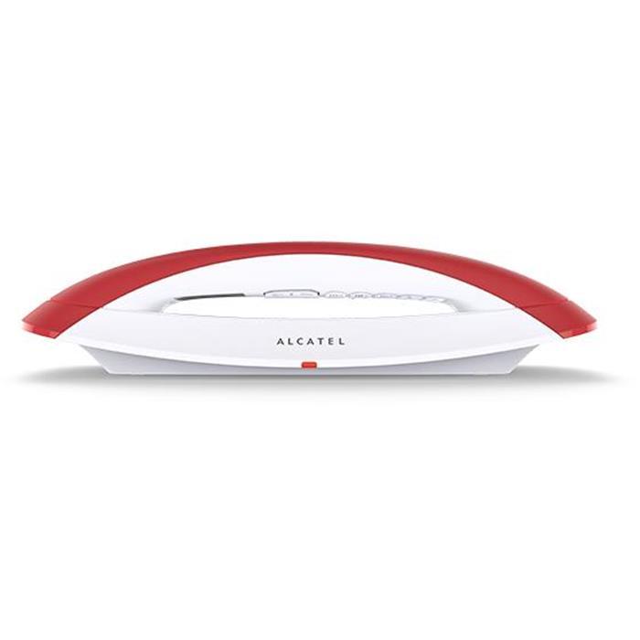 Ασύρματο Τηλέφωνο Alcatel Smile CE Κόκκινο hlektrikes syskeyes texnologia stauerh thlefonia thlefona