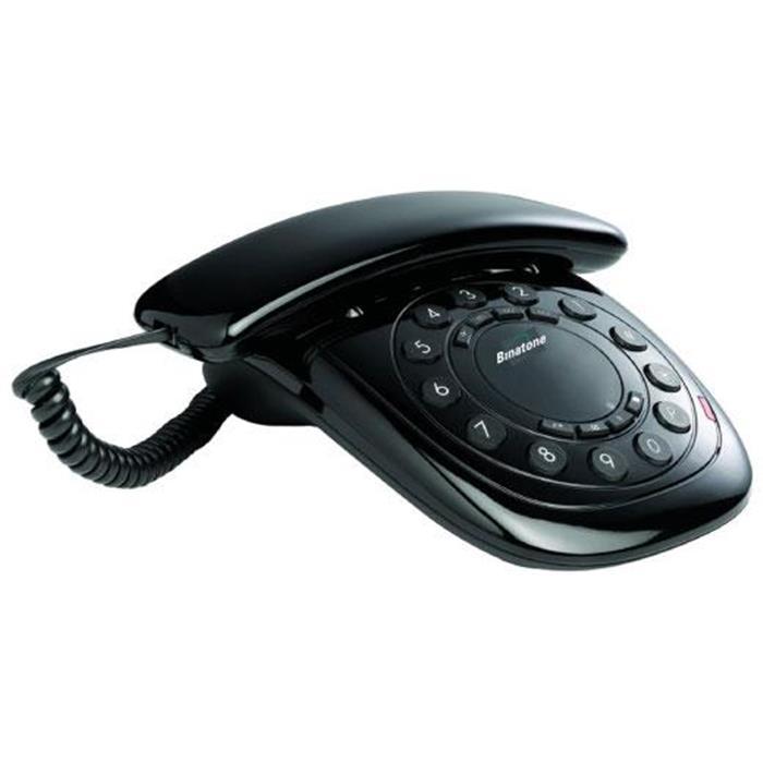 Ενσύρματο Τηλέφωνο Binatone C10 Μαύρο hlektrikes syskeyes texnologia stauerh thlefonia thlefona