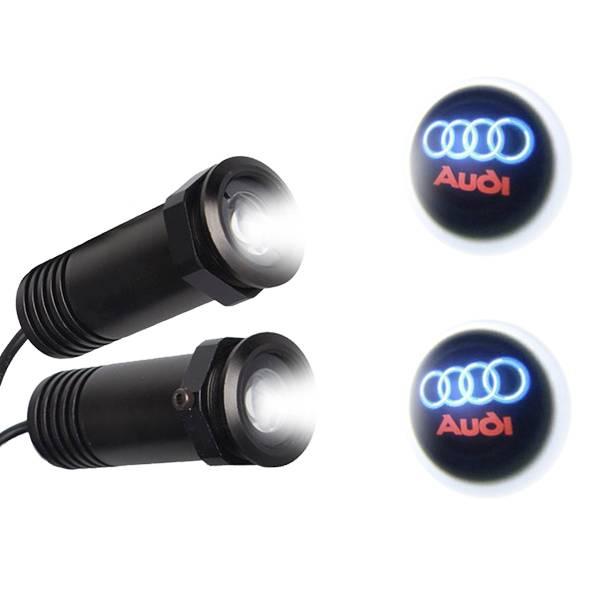 Audi LED Ghost Logo Projector GloboStar 98546 aytokinhto mhxanh fotismos oxhmaton led logo shadow projector