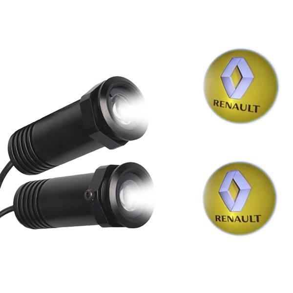 Renault LED Ghost Logo Projector GloboStar 98564 aytokinhto mhxanh fotismos oxhmaton led logo shadow projector
