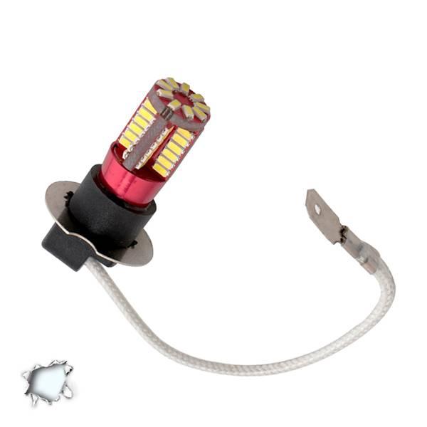 Λαμπτήρας LED H3 Can Bus με 57 SMD 4014 6000k GloboStar 40131 aytokinhto mhxanh fotismos oxhmaton lampes led gia probolakia