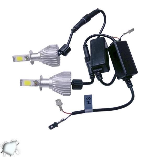 LED HID Kit H3 36 Watt 9-36 Volt DC 3600 Lumen 6000k C6 Economy Line GloboStar 0 aytokinhto mhxanh fotismos oxhmaton led hid kit