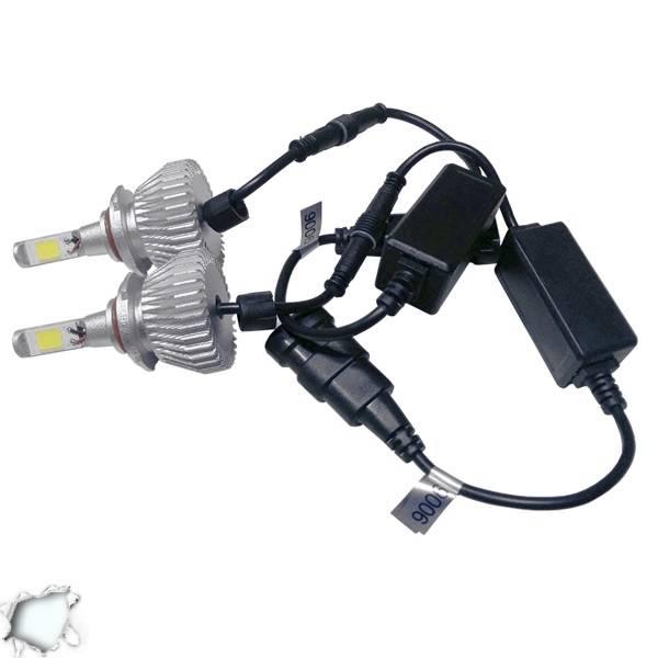 LED HID Kit HB4 9006 36 Watt 9-36 Volt DC 3600 Lumen 6000k C6 Economy Line Globo aytokinhto mhxanh fotismos oxhmaton led hid kit
