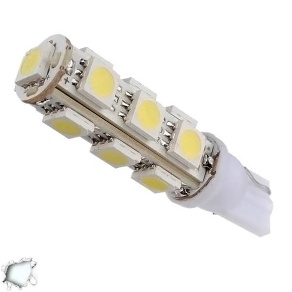 Λαμπτήρας LED T10 με 13 SMD 5050 Ψυχρό Λευκό GloboStar 03040 aytokinhto mhxanh fotismos oxhmaton lampes led t10