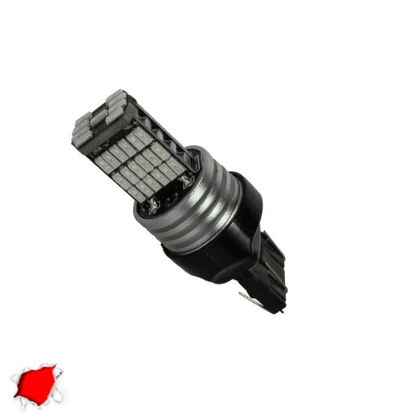 Λαμπτήρας LED T20 7443 με 45 SMD Can Bus 10-30v 4014 Κόκκινο GloboStar 40198 aytokinhto mhxanh fotismos oxhmaton lampthras led t20