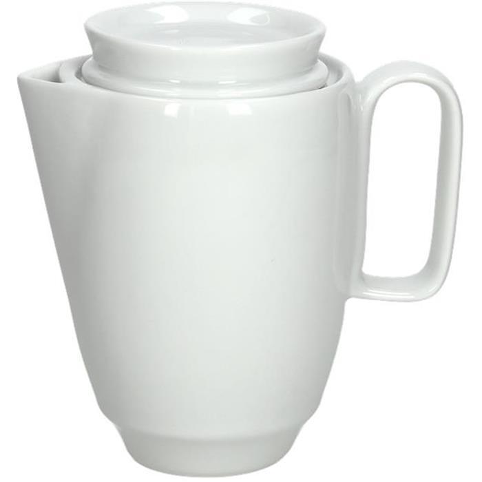 Καφετιέρα Πορσελάνης 400cc Tognana Thesis TZ030040000 Λευκό