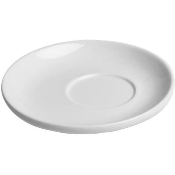 Πιατάκι Κούπας Πορσελάνης Φ14cm Tognana Wilma TB006020000/A Λευκό Σετ 12τμχ