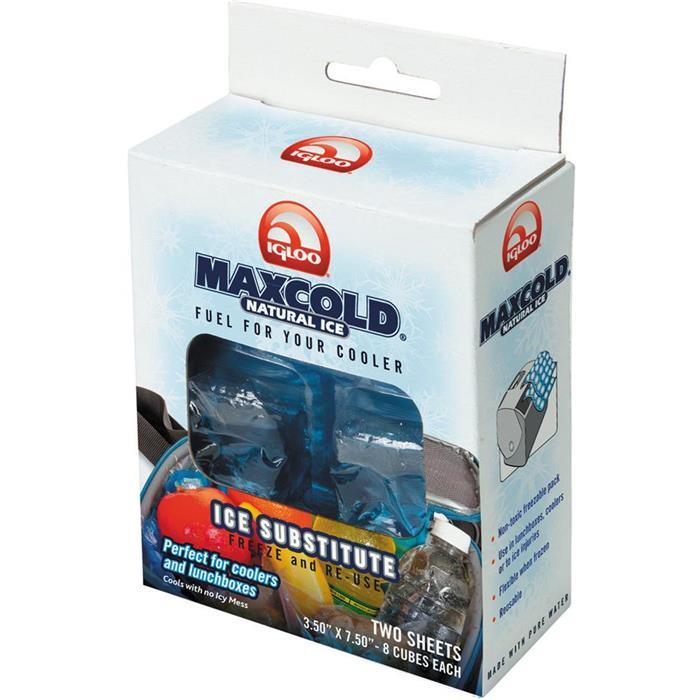Παγοκυψέλες Igloo MaxCold Natural Ice 2x8 Cube