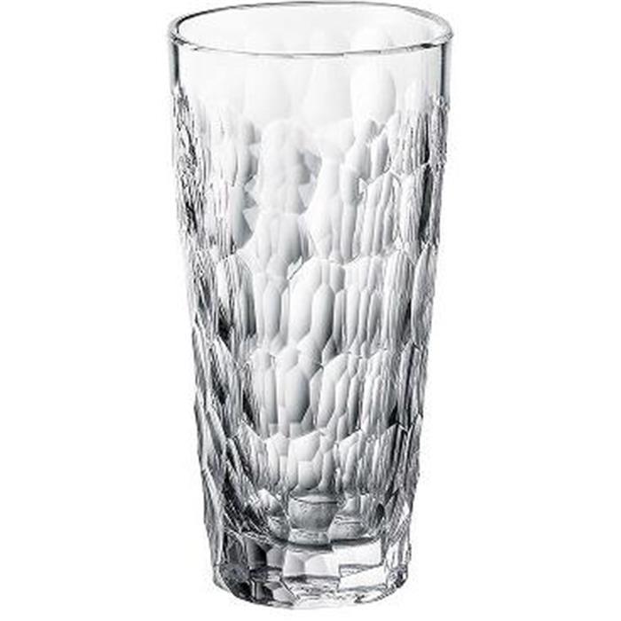 Ποτήρι Σωλήνα 375ml Marble Bohemia Crystal 6τμχ