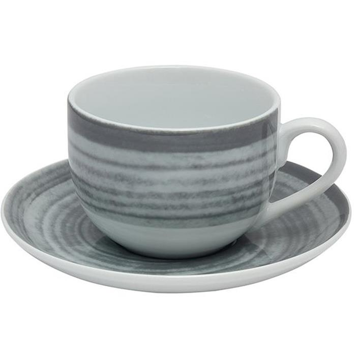 Φλυτζάνι Καφέ 90cc Σετ 6τμχ 18252/Grey Oriana Ferelli