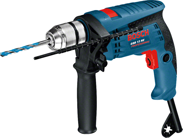 Δράπανο Κρουστικό Bosch GSB 13 RE Professional (0601217100)