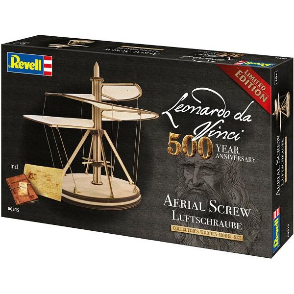 Μοντέλο Revell: Leonardo da Vinci: Ελικα Aerial Screw (00515)