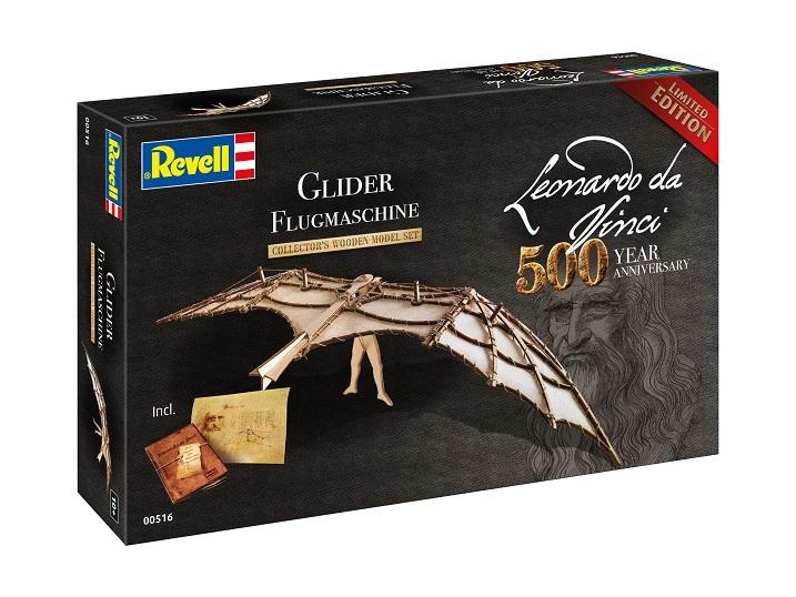 Μοντέλο Revell: Leonardo da Vinci: Ιπτάμενη Μηχανή Glider (00516)
