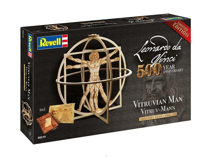 Μοντέλο Revell: Leonardo da Vinci: Ανθρωπος του Βιτρούβιου Vitruvian (00519)