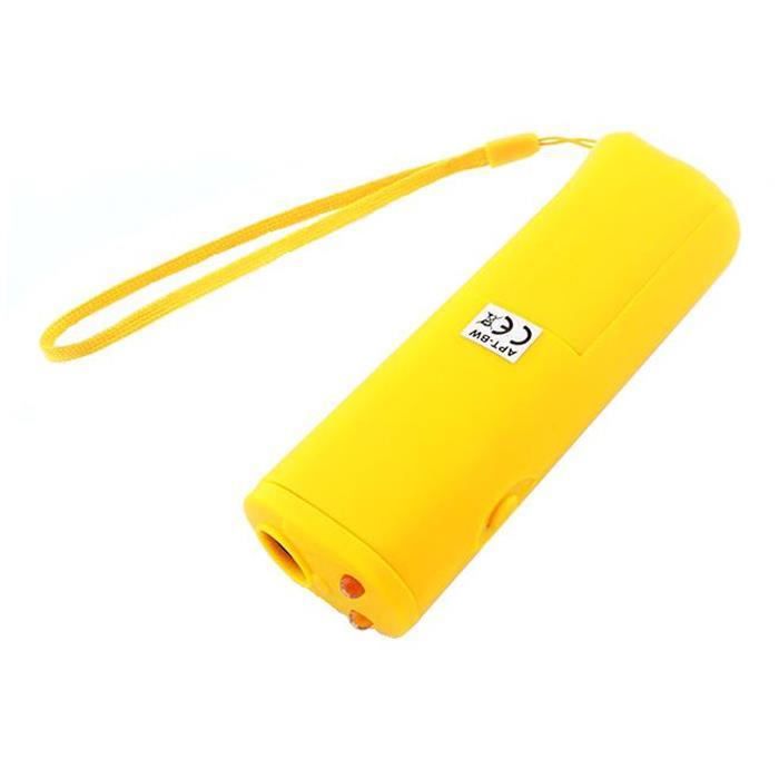 Συσκευή Υπερήχων για Απομάκρυνση & Εκπαίδευση Σκύλων OD11 Led Κίτρινο