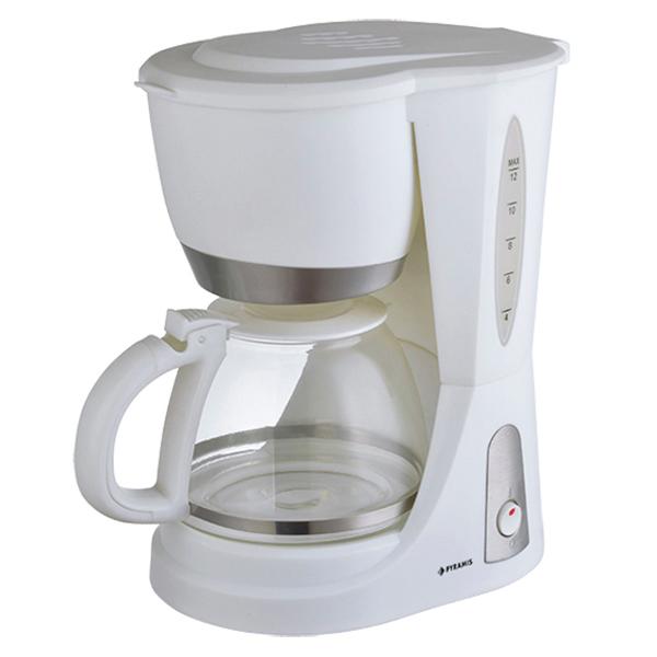 Καφετιέρα Φίλτρου Pyramis WI1001 Λευκή (040002601)