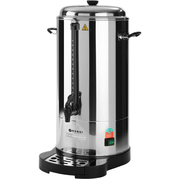Καφετιέρα Φίλτρου 15lt Διπλού Τοιχώματος 1500W Hendi Percolator 211304
