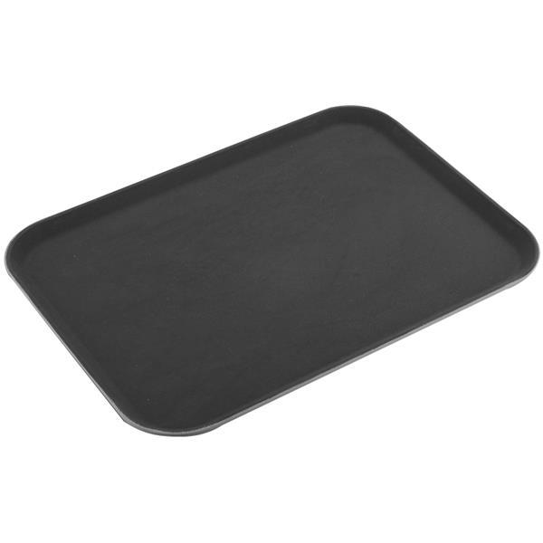 Δίσκος Σερβιρίσματος Fiberglass Ορθογώνιος Αντιολισθητικός 51x38cm Sunnex MFE1520 Μαύρος