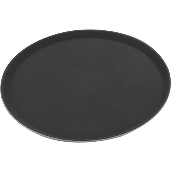 Δίσκος Σερβιρίσματος Fiberglass Στρογγυλός Αντιολισθητικός Φ40.5cm Sunnex MFE1600 Μαύρος