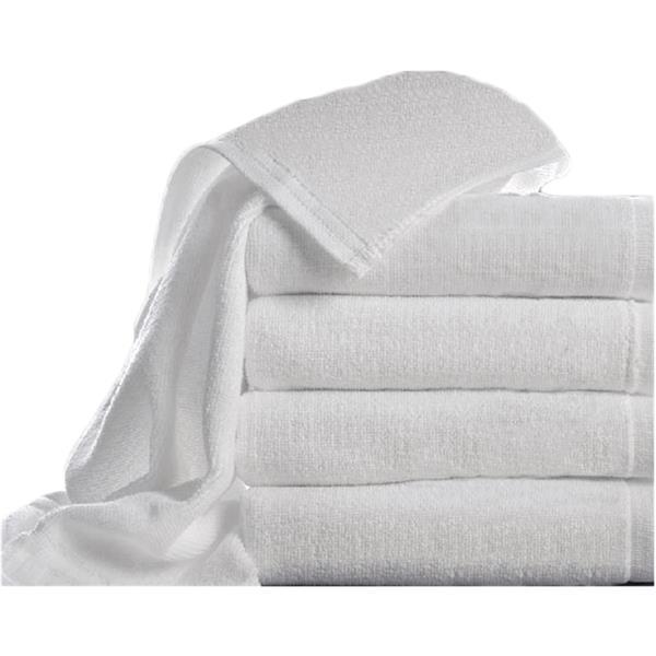 Πετσέτα Μπάνιου 70x140cm Fragente T400KS/70X140 Λευκή Σετ 4τμχ