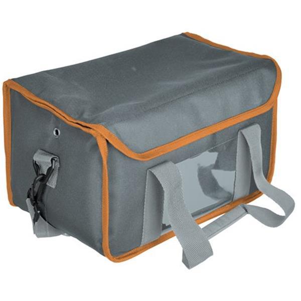 Ισοθερμική Τσάντα Μεταφοράς Καφέ 6 Θέσεων Γκρι 30x20x20cm CBB-6P/GR