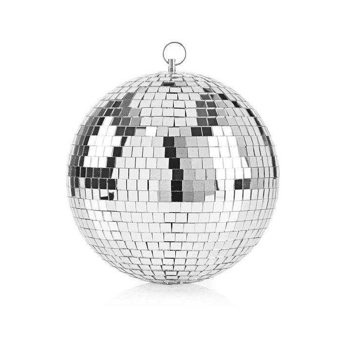 Κρεμαστή Disco Ball Καθρέπτη 20Cm Nedis FUDI212SI20