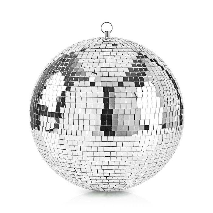 Κρεμαστή Disco Ball Καθρέπτη 30Cm Nedis FUDI212SI30
