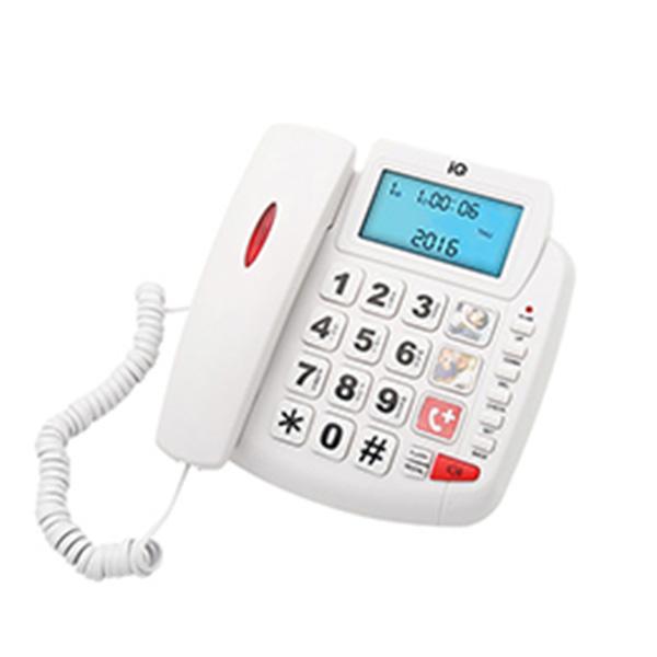 Σταθερό Τηλέφωνο IQ DT-891CID New Λευκό