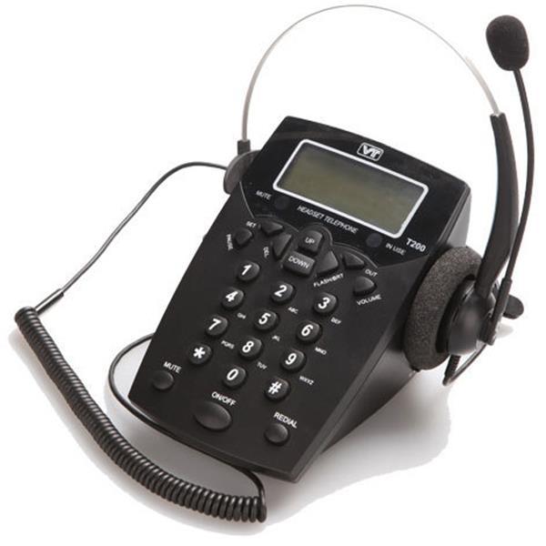VT Headset Telephone T200 με Headset VT1000 (VTT200)