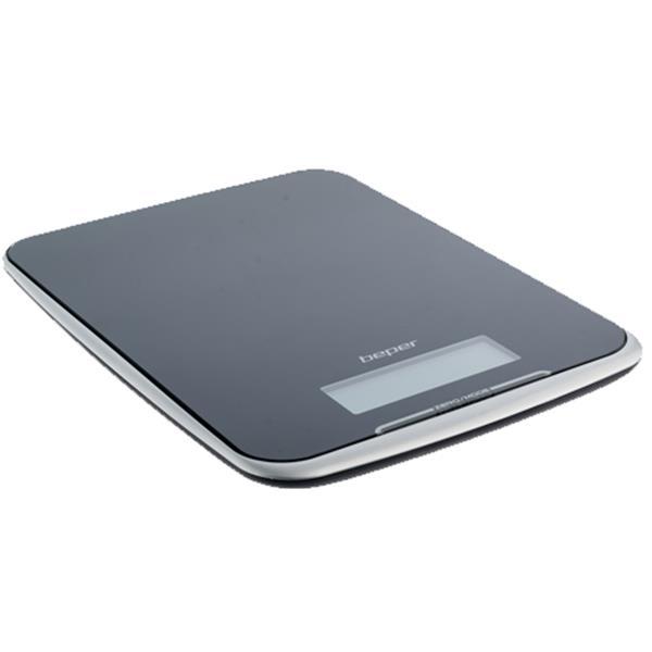 Ζυγαριά Κουζίνας Ηλεκτρονική 10kg 18x24x2 Beper 90.125