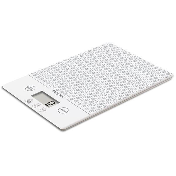 Ζυγαριά Κουζίνας Ηλεκτρονική 5kg 22.5x7.2x2.7 Beper 90.123B