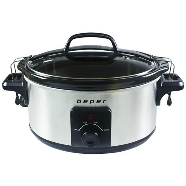 Ηλεκτρονική Γάστρα 5.5lt Slow Cooker Beper BC.500